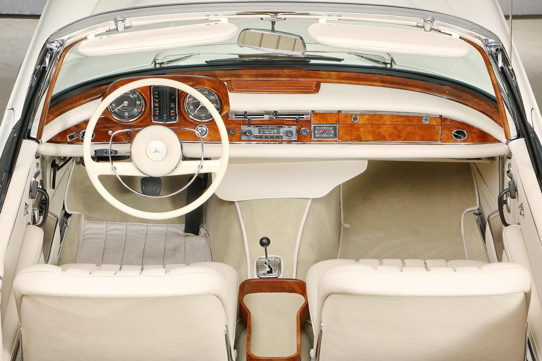 1967 300 SE 6,3 Ltr. Cabriolet For Sale (picture 11 of 12)