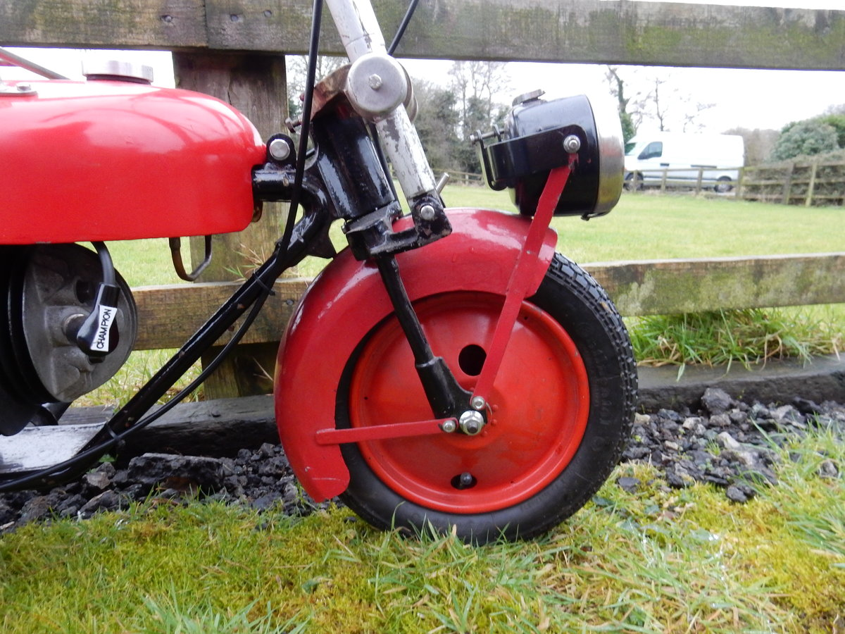 Brockhouse Corgi  98cc  1948 For Sale (picture 9 of 12)