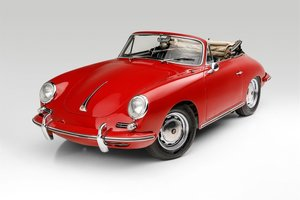 Picture of 1964 Porsche 356C Cabriolet Project needs TLC Red driver $95 For Sale