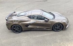 2020 Chevrolet Corvette Stingray Coupe Zeus Bronze Navi