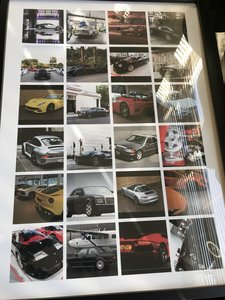 Picture of 2021 Various Car Posters/Wallart (19 Items) Ideal For Car Garage For Sale