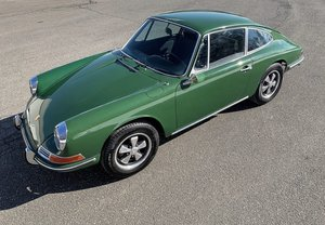 Picture of 1968 Porsche 912 Coupe low 33k miles Green(~)Black $obo For Sale