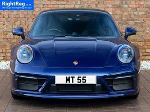 Picture of 1910 Cherished Number Plate: MT 55 For Sale