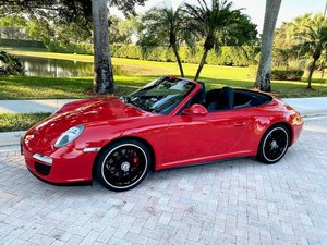 Picture of 2011 Porsche 911 Carrera GTS Cabriolet Convertible PDK $84.9 For Sale