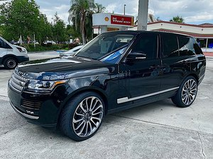 Picture of 2017 Range Rover HSE AWD SUV Met(~)Black Tan LHD $74.9k For Sale