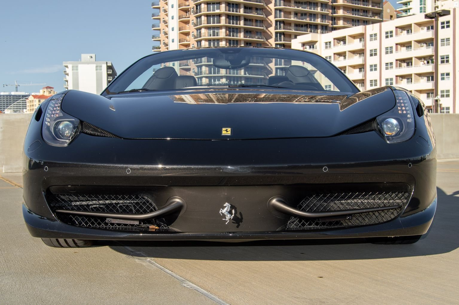 2012 Ferrari 458 Italia Spider F-1 clean Grey 13k miles $199 For Sale (picture 3 of 12)