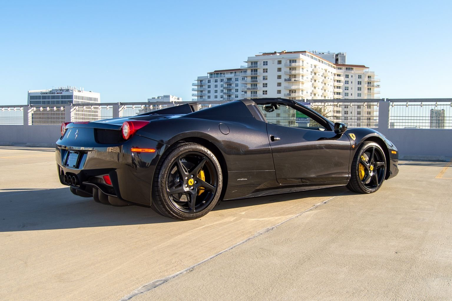 2012 Ferrari 458 Italia Spider F-1 clean Grey 13k miles $199 For Sale (picture 5 of 12)