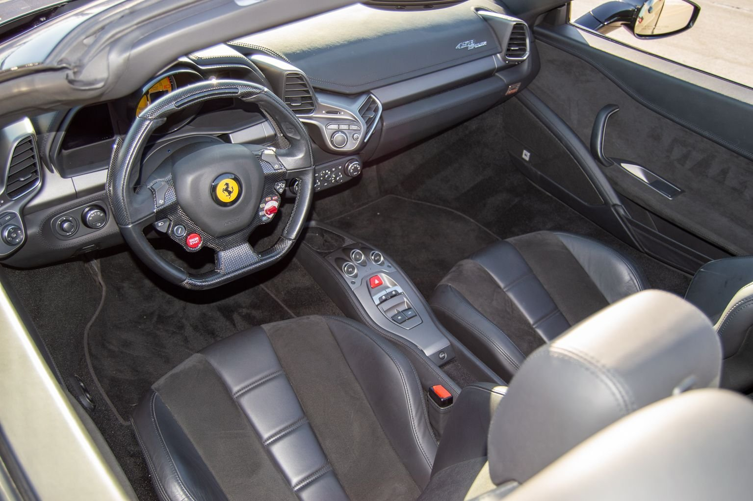 2012 Ferrari 458 Italia Spider F-1 clean Grey 13k miles $199 For Sale (picture 7 of 12)