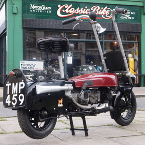 Picture of 1948 Corgi Brockhouse 98 CC Parachute Bike, Ride Away. For Sale