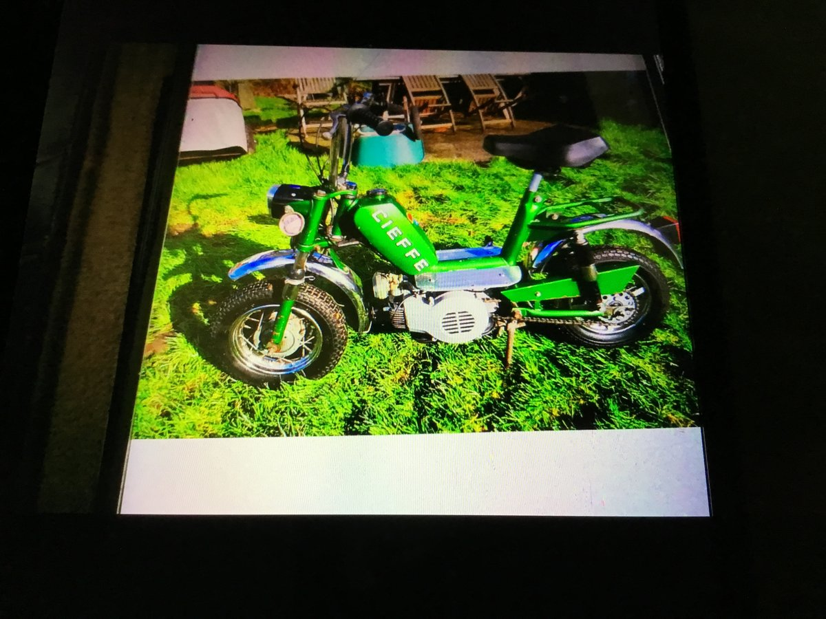 1974 cleffe Italian moped For Sale (picture 1 of 1)