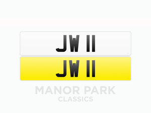 Picture of 2020 Registration Number 'JW 11' 27th April For Sale by Auction