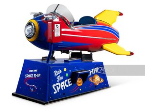 Picture of Space Ship Coin-Operated Kiddie Ride by Ballys, 1948 For Sale by Auction