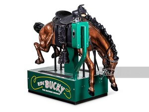Picture of Bucky the Bucking Bronco Coin-Operated Kiddie Ride by Ballys For Sale by Auction
