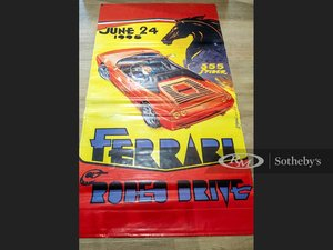 Picture of Ferrari  Rodeo Drive Vinyl Banner, 1995 For Sale by Auction