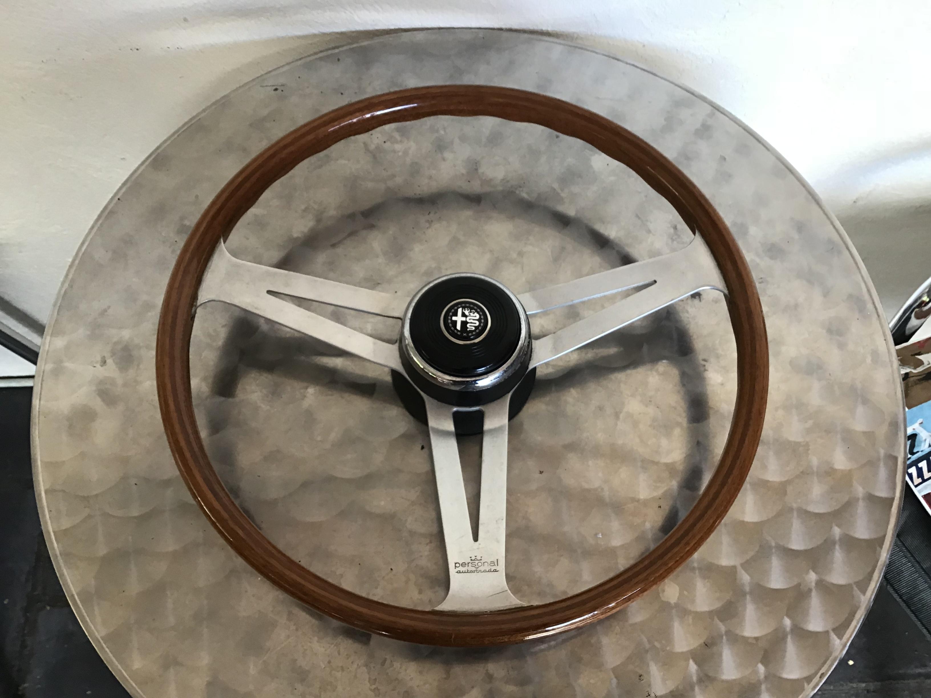 Picture of 1950 AlfaRomeo  1966 PERSONAL Factory  woodrim wheel For Sale