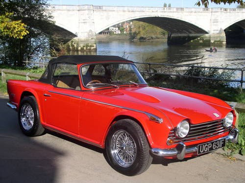 WANTED - ALL TRIUMPH TR4's & TR5's Wanted (picture 1 of 4)