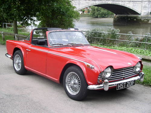 WANTED - ALL TRIUMPH TR4's & TR5's Wanted (picture 4 of 4)