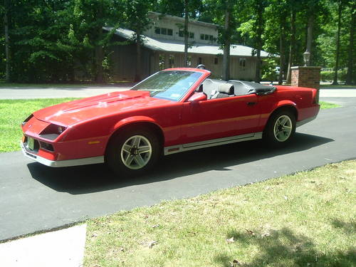 1984 Chevrolet Camaro Z28 Convertible..RARE For Sale (picture 2 of 5)