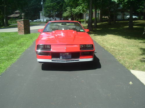 1984 Chevrolet Camaro Z28 Convertible..RARE For Sale (picture 3 of 5)