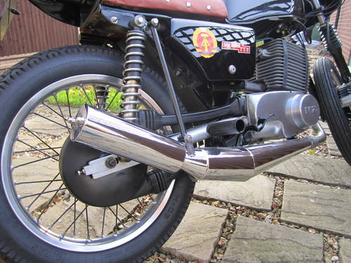 1986 MZ ETZ250 Cafe Racer Conversion SOLD   Car And Classic