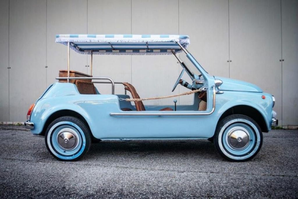 Picture of 1972 CONVERTED LHD Fiat 500 Vintage Model in  JOLLYES Holiday Car For Sale