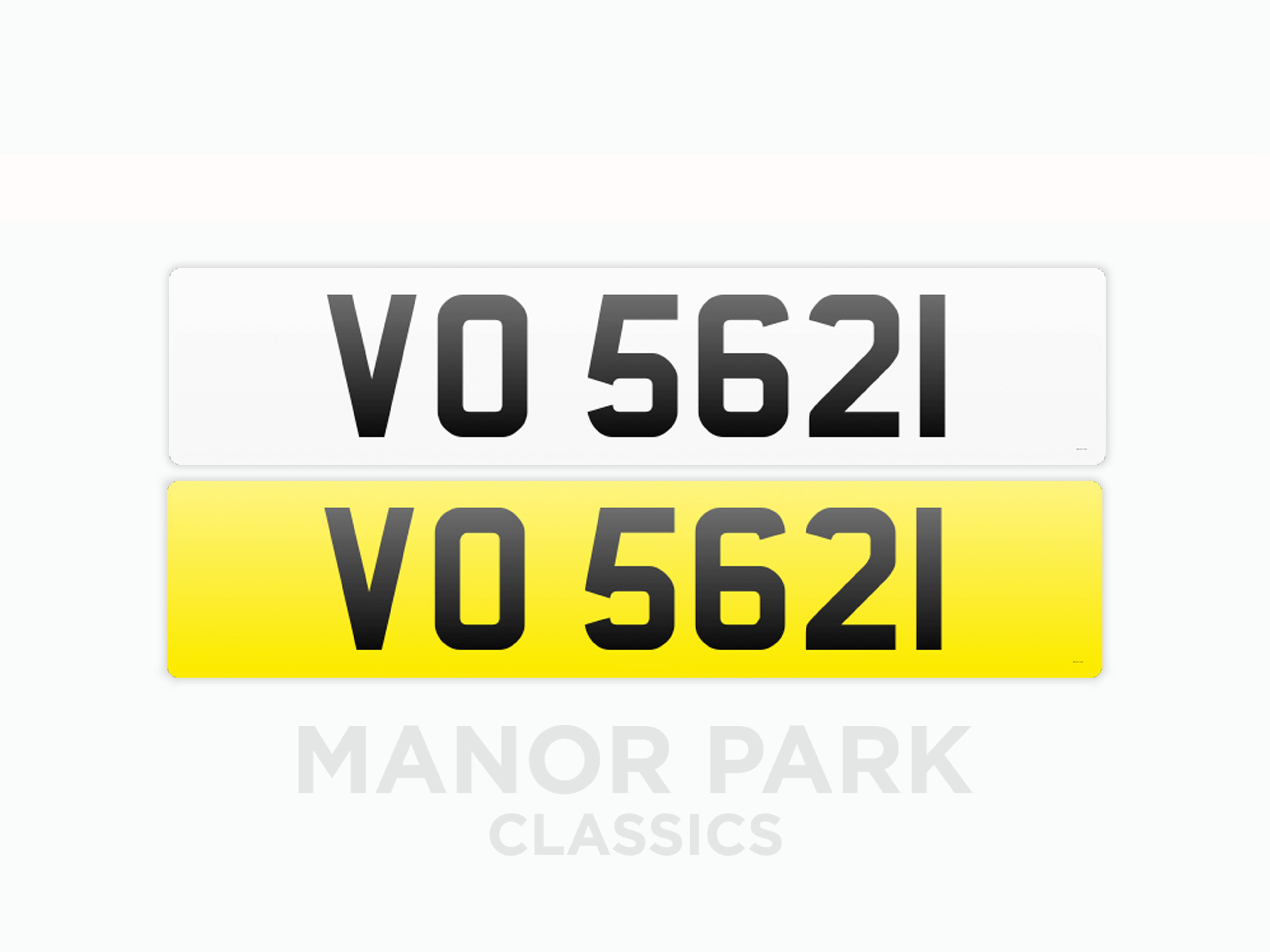 Picture of Registration Number 'VO 5621' For Sale by Auction