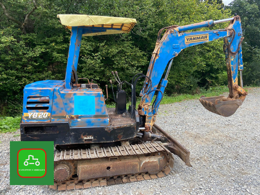 Picture of 1990 YANMAR YB20 MINI DIGGER 2.2 Ton TOWABLE & ALL WORKS WELL+VAT For Sale