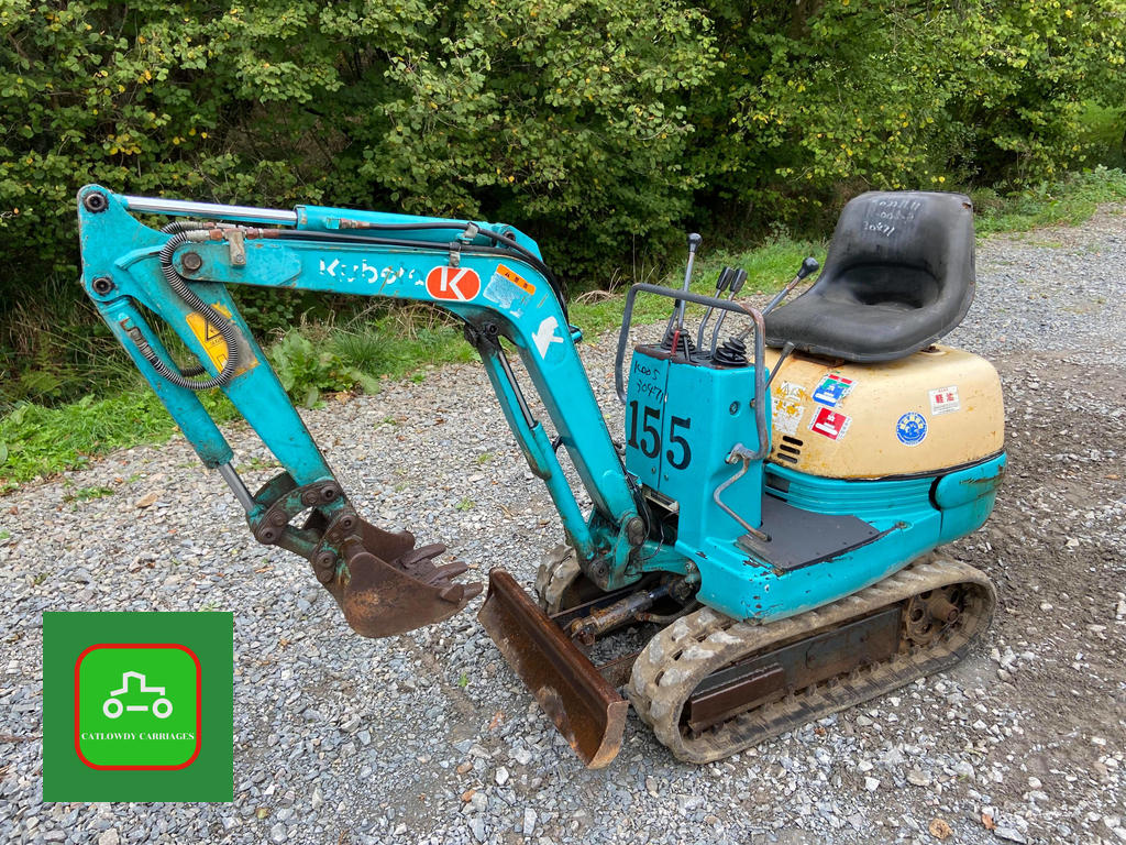 Picture of 1999 KUBOTA K005-5 MICRO DIGGER 1/2 TON 500kg SMALL SPACE SPECIAL For Sale