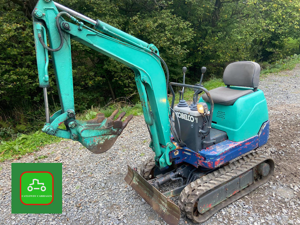 Picture of 1999 KOBLECO SK007 MICRO DIGGER 3/4 Ton EXPANDING 2 SPEED TRACKS For Sale