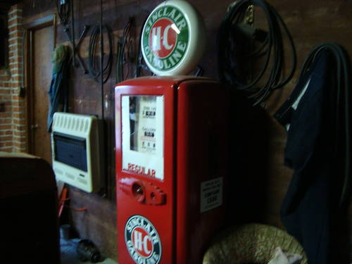 1950 Sinclair Gas Pump For Sale (picture 1 of 6)