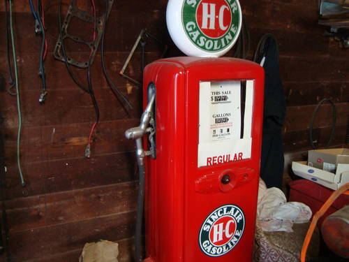 1950 Sinclair Gas Pump For Sale (picture 2 of 6)