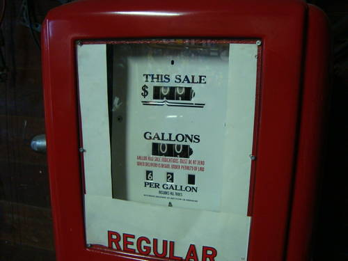 1950 Sinclair Gas Pump For Sale (picture 3 of 6)