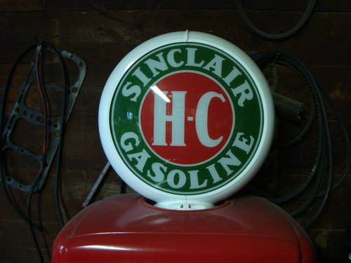 1950 Sinclair Gas Pump For Sale (picture 5 of 6)