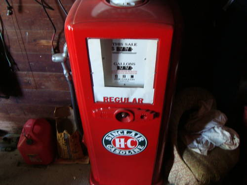 1950 Sinclair Gas Pump For Sale (picture 6 of 6)
