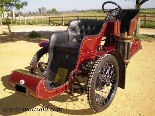Phoenix Trimo Forecar 1906. Spectacular three wheeler For Sale (picture 1 of 6)