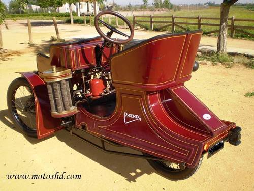 Phoenix Trimo Forecar 1906. Spectacular three wheeler For Sale (picture 2 of 6)