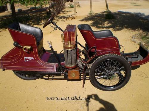Phoenix Trimo Forecar 1906. Spectacular three wheeler For Sale (picture 4 of 6)