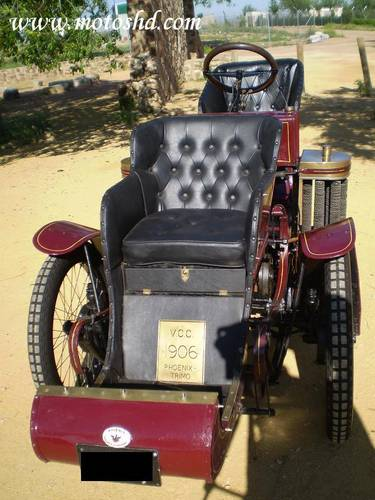 Phoenix Trimo Forecar 1906. Spectacular three wheeler For Sale (picture 5 of 6)