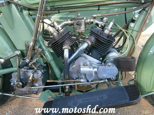 Husqvarna 145 with sidecar from 1916.Spectacular combination For Sale (picture 2 of 6)