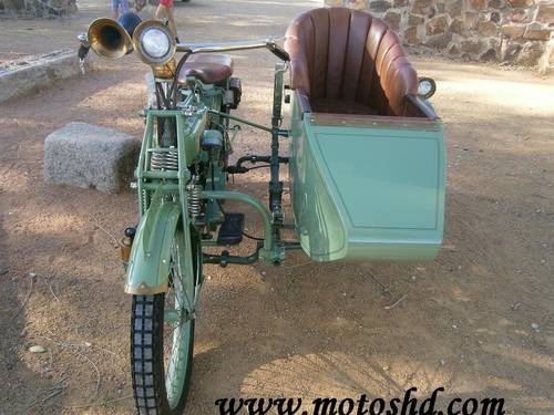 Husqvarna 145 with sidecar from 1916.Spectacular combination For Sale (picture 3 of 12)