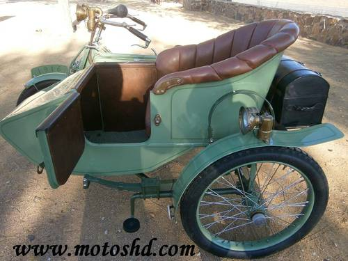 Husqvarna 145 with sidecar from 1916.Spectacular combination For Sale (picture 6 of 12)