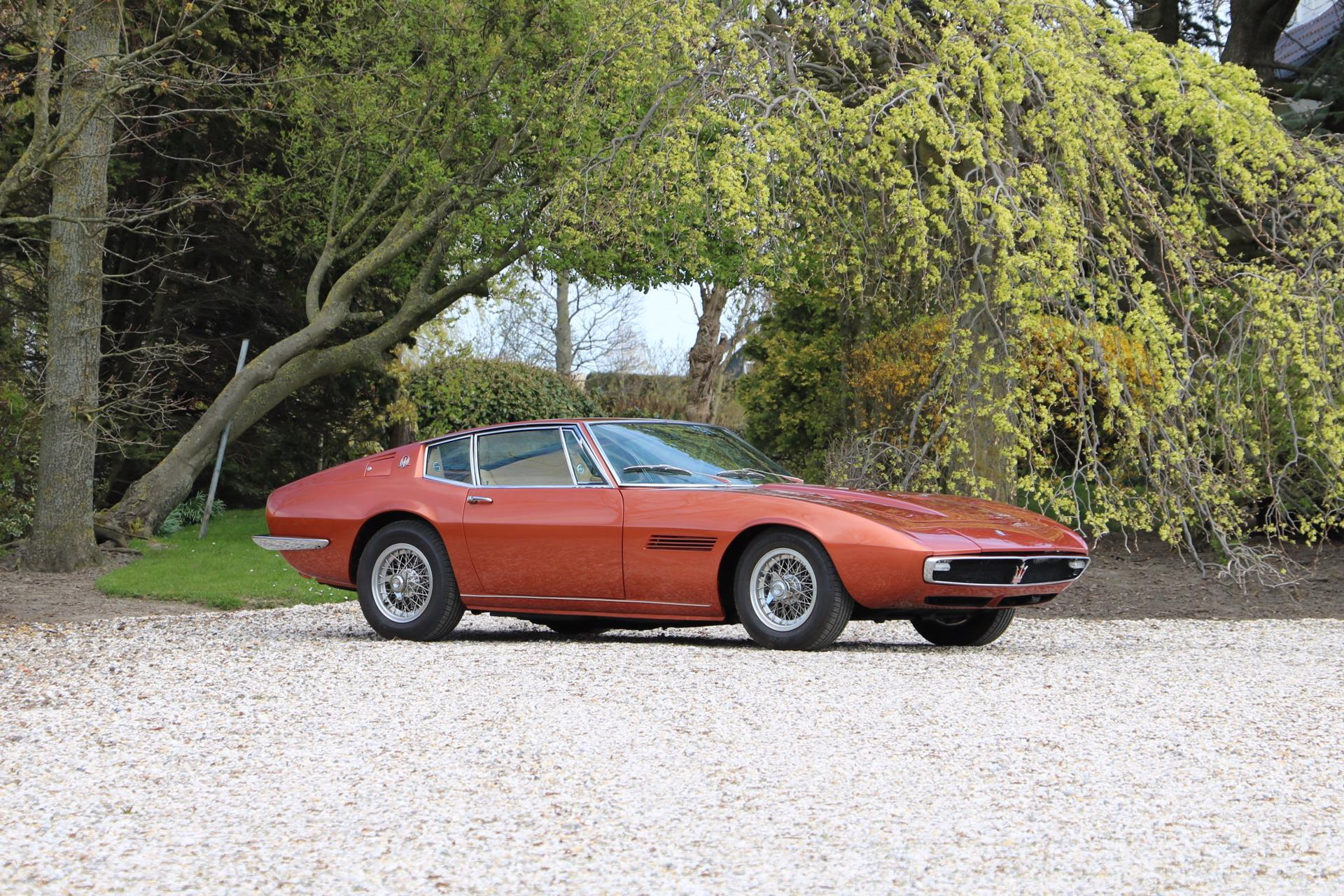 Picture of 1968 Maserati Ghibli - Matching numbers and colors For Sale
