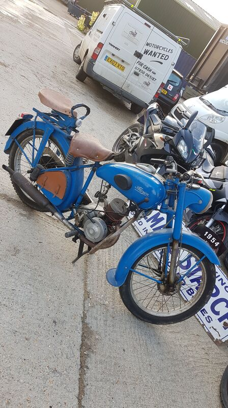 Picture of 1954 Ajon 97cc classic French 2 stroke £1095 as is For Sale