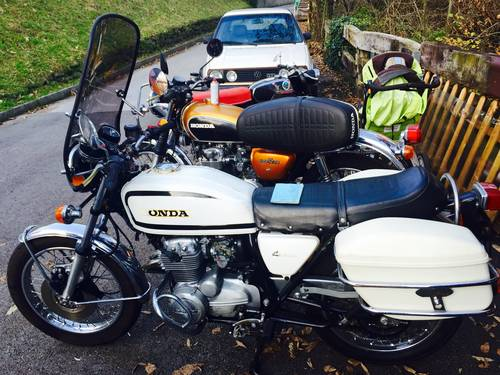 1978 Honda CB 400 F Swiss Police Motorcycle For Sale (picture 1 of 6)