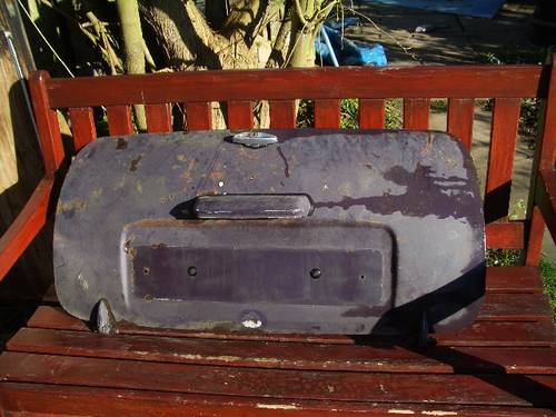 1971 mini boot lid For Sale (picture 1 of 2)