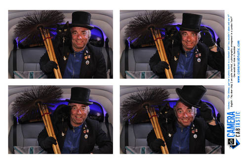 1997 Photo Booth In A London Taxi! For Hire (picture 2 of 6)