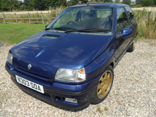 1995 Renault Clio Williams 3  For Sale (picture 1 of 6)