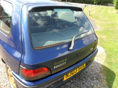 1995 Renault Clio Williams 3  For Sale (picture 2 of 6)