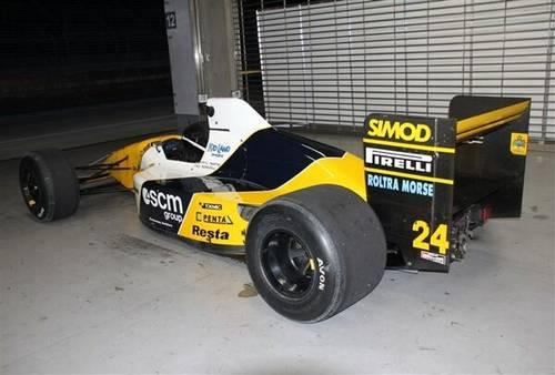 1990 Minardi M190 Formula1 - Pierluigi Martini-Paolo Barilla For Sale (picture 2 of 6)