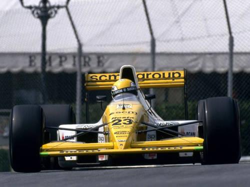 1990 Minardi M190 Formula1 - Pierluigi Martini-Paolo Barilla For Sale (picture 6 of 6)